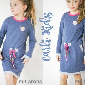 Kinder Sweat Kleid CARLIkids