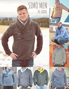 Pullover Troyer mit Kragen