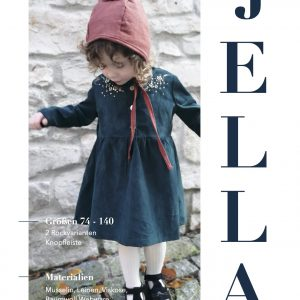 girls placket dress jella