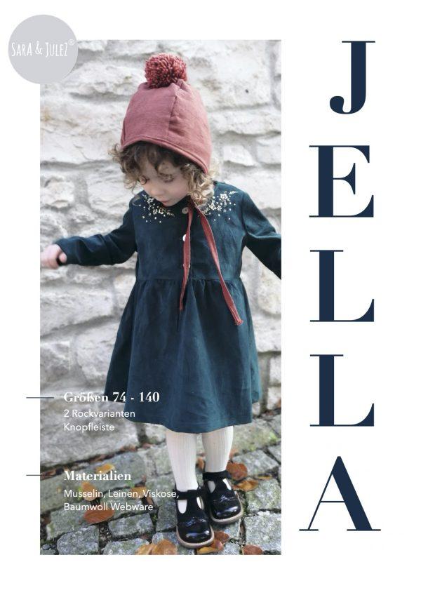 girls placket dress jella