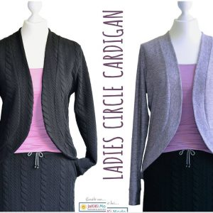 Damen Strickjacke CIRCLE Cardigan