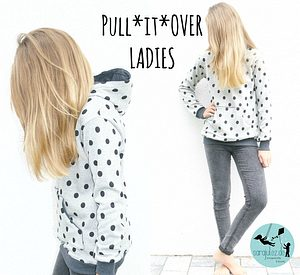 Hoodie Pull*it*Over Ladies