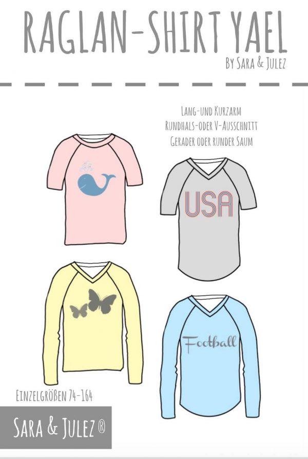 Casual Kinder Raglan Shirt YAEL