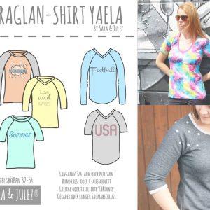 Casual Damen Raglan Shirt YAELA