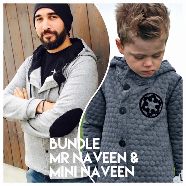 Bundle Sweat Outdoor Jacke