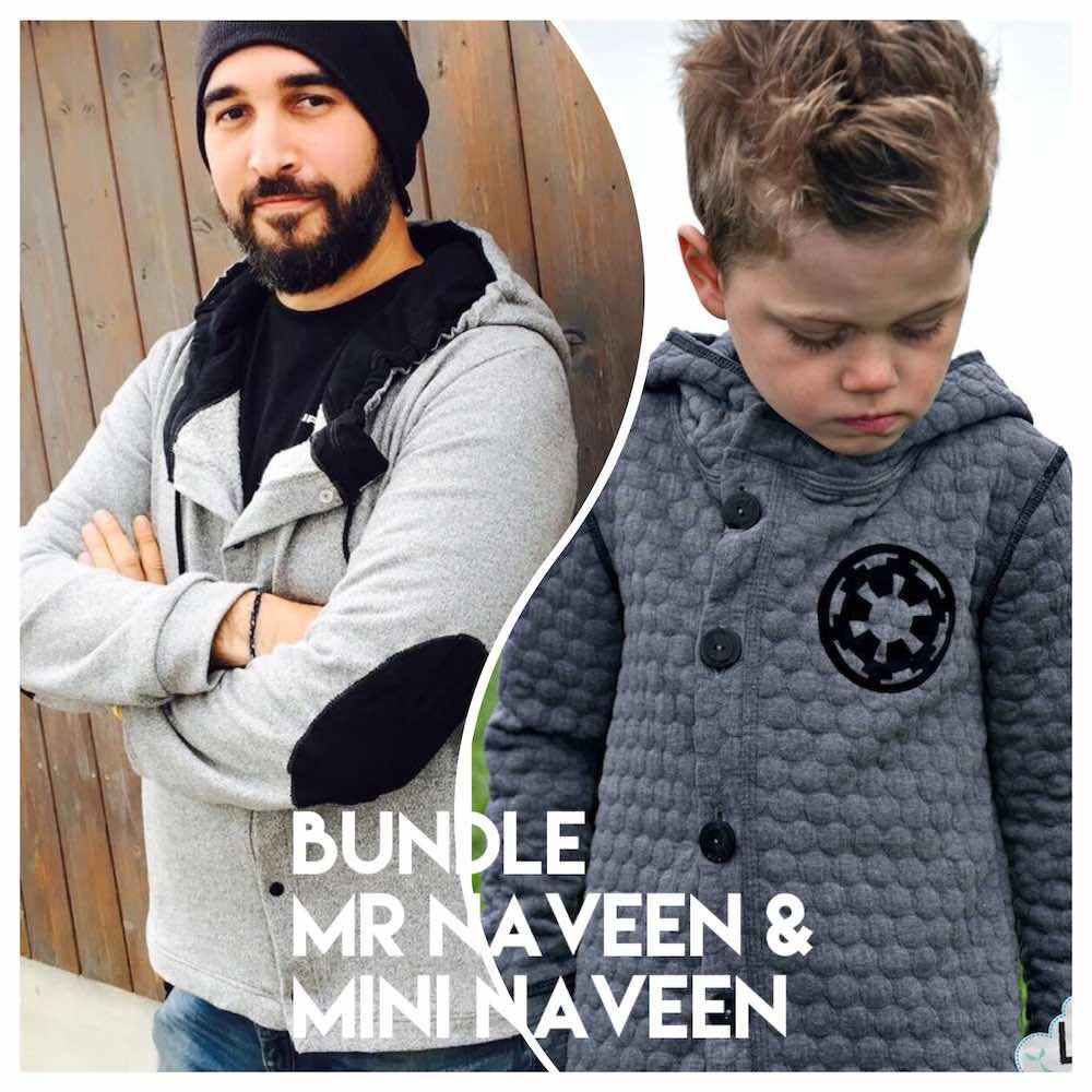Bundle Sweat Outdoor Jacke