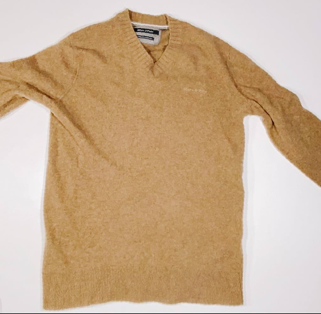 Upcycling Pullover zu Mütze