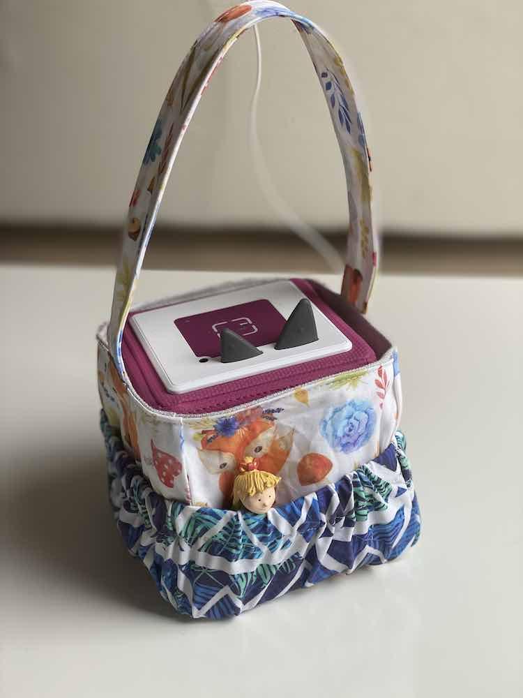Freebook Tonie Box Tragetasche