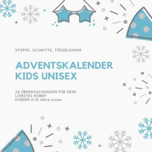 DIY Adventskalender kids unisex