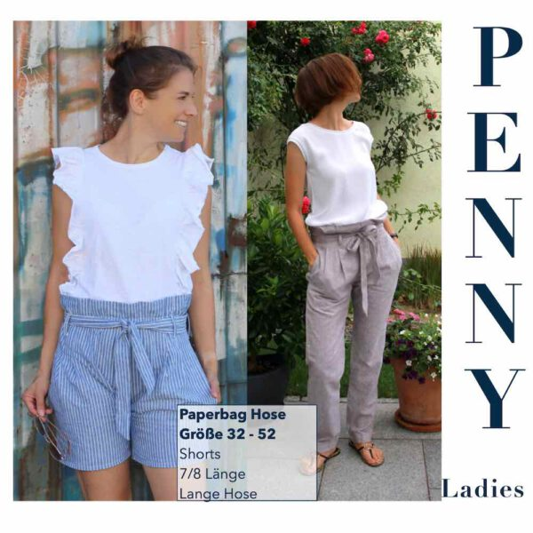 Paperbag Hose PENNY Ladies