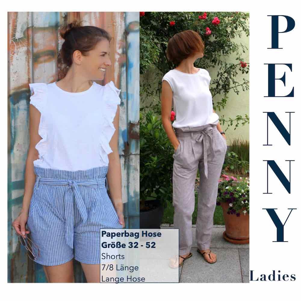 Paperbag Hose PENNY Ladies