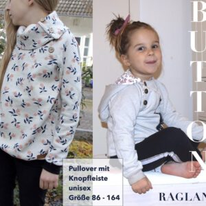 Kinder Pullover BUTTON RAGLAN Kids Titel